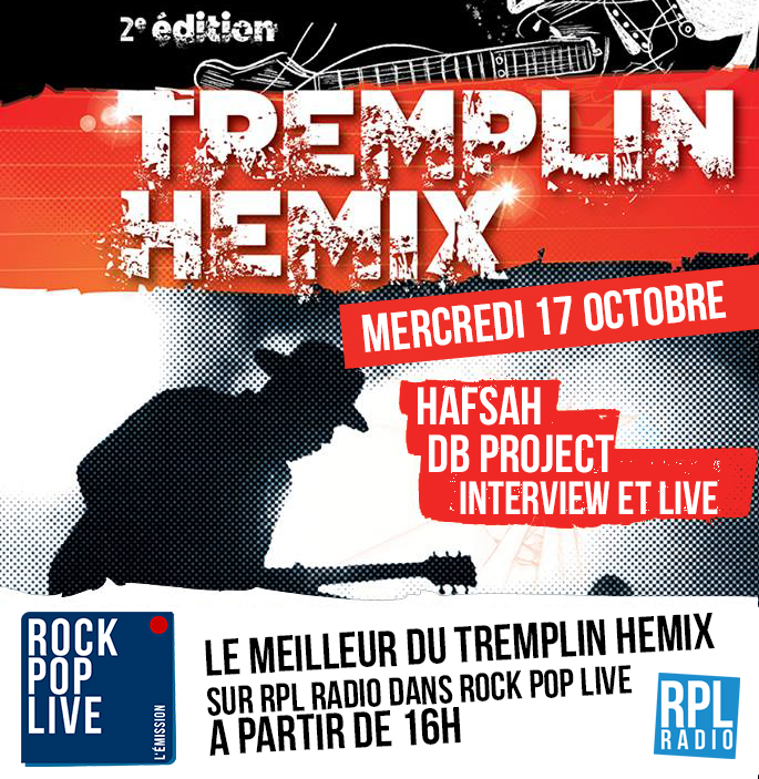 Rock Pop Live - Tremplin Hemix 2018